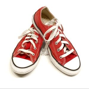 Converse Red Sneakers: Size 2.5